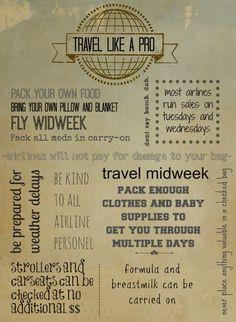 travel like a pro: radmomcoolkid.com #travel #tips