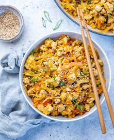 Quick Recipes, Clean Eating Recipes, Healthy Eating, Healthy Recipes, Eggroll In A Bowl, Quick Stir Fry, Turkey Dishes, Egg Rolls, Meal Prep