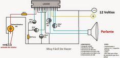 Esta sección contiene diagramas de proyectos electrónicos útiles para quienes se dedican a las reparaciones de electrónica, así como también...