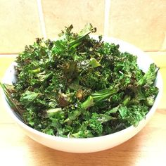 Bag of kale in an oven tray, sprinkle with sea salt and 2 teaspoons of Lucy Bee Coconut oil. Smash it in the oven on 180 degrees for 20 minutes! Salty Kale Crisps #TalkToMe #LeanIn15 #TheBodyCoach