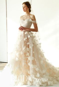 Marchesa Wedding Dress Collection - Spring 2017 | http://Brides.com