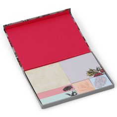 Floral box - Sticky Notes at Paperchase