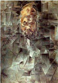 Portrait d'ambroise Vollard - Pablo Picasso  1910