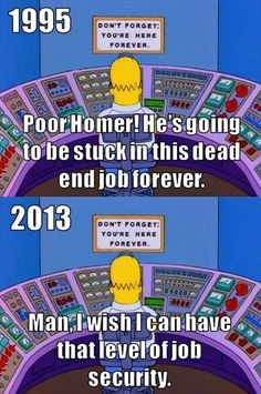 homer simpson job security