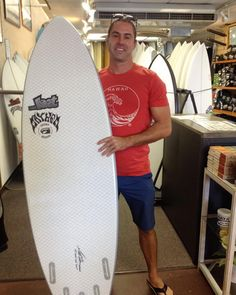 "Shawn Jenkins @negativecontrast thank you coming in. Hope you enjoy your new Lib Tech Surf ...Lost Surfboards 6'0"" Short Round! #mahalo #shortround #yoursurfboutique #hawaiiansouthshore"
