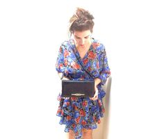 Blue & Red by Tranquillina on Etsy