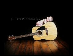 Newborn photo - could we do this on your piano?