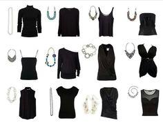 Mialisia ~ inspiration of what necklace to wear with what Neck line! Www.fionas.mialisia.com
