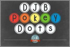 DJB Pokey Dots Font by Darcy Baldwin on @creativemarket
