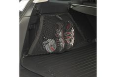 #Outback Cargo Net- Side. Neatly holds smaller cargo items. Kit includes two nets. MSRP: $47.95 #subaru #parts #accessories