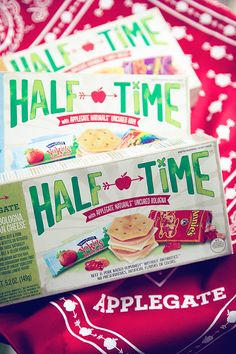 Whipperberry: Lunching Awesome with Applegate HALF TIME™ Lunch Kits #lunchingawesome