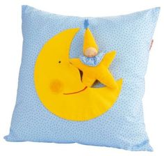 Amazon.com: Kathe Kruse Soft Moon Pillow with Star Doll: Baby