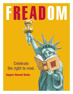 FREADOM - Celebrate the right to read.
