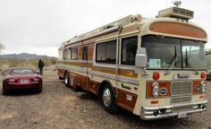 Can you guess what year? Bus Camper, Campers, Bluebird Buses, Cool Rvs, Bus Travel, Vroom Vroom, Motorhome, Blue Bird, Recreational Vehicles
