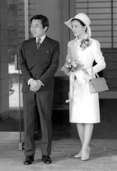 皇太子継宮明仁親王(つぐのみやあきひとしんのう)殿下, 同妃美智子殿下(当時) Crown Prince Akihito & Crown Princess Michiko, 皇紀2636年(昭和51年:AD1976)