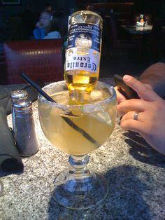 Mexican Bulldog. Beer-garita. No slush, tons of salt. All awesome.