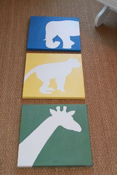DIY art (2) for the baby's room?