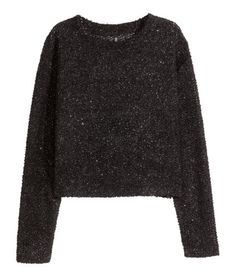 Glittery Sweater   Product Detail   H&M