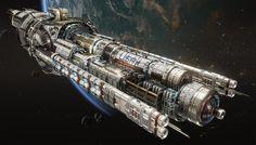 """ArtStation - USR """"Guardian"""" - Fractured Space, Hans Palm"""