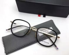2017 Thom Browne eyeglasses TB-906 Retro glasses frame men women full frame prescription eyewear frames oculos de grau with box