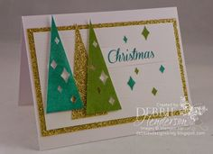 Stampin' Up! Watercolor Winter SImply Created Kit. 16 photo's. Debbie Henderson, Debbie's Designs.