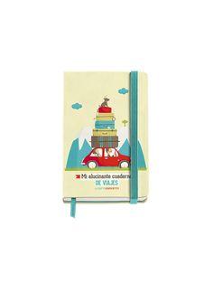 Cuaderno Logbook Viajes diseñado por TuttiConfetti para MIQUELRIUS