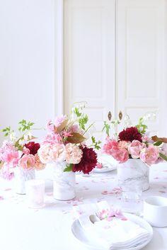 Fête des mères : des inspirations décos à base de fleurs et de lettres