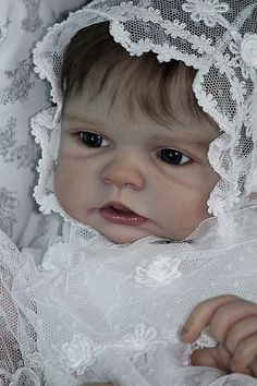 Cheza Baby Reborn baby girl doll RARE SOLD OUT BRONWYN Romie Strydom | eBay