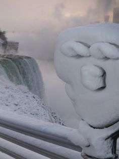 Christmas at Niagara Falls :)