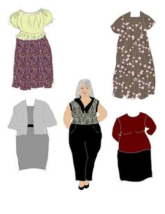 Grandmother Doll*1500 free paper dolls for Christmas at artist Arielle Gabriels The International Paper Doll Society and also free Asian paper dolls at The China Adventures of Arielle Gabriel *