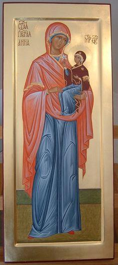 Sant'Anna con Maria Bambina through the hand of  Maria Teresa Battilana
