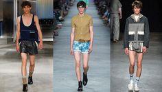 Les tendances homme printemps-été 2016 | Vogue >>> MINI SHORT