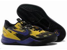pretty nice 3a066 edec0 Kobe Bryant Basketball Shoes, Kobe Bryant Nba, Kobe 8 Shoes, University Of  Oklahoma, Purple Yellow, Nike Zoom, Black Shoes, Mlb, Black Shoe Boots