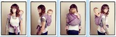 Wiggle Proof Back Carry  {from Babywearing 102: Wrapping 360 Project}   ***long wrap carry