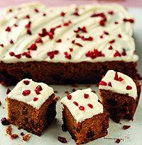 Pumpkin and cranberry cake recipe - hellomagazine.com