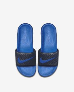 ff0de200ce2853 Nike Benassi Solarsoft 2 Men s Slide - 6 Blue Men Slides
