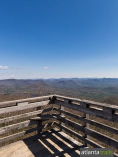 Outstanding views surround the Rabun Bald summit, offering hikers a 360-degree views of the Appalachian Mountains