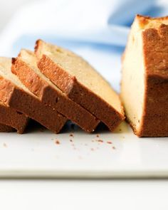 Vanilla pound cake. Going to make this for Easter and top with berries and whipped cream