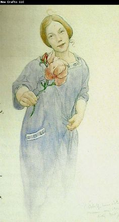 Carl Larsson: Lisbeth, 1918