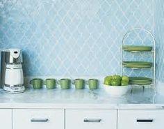 kitchen tiled splashback ideas - Google Search