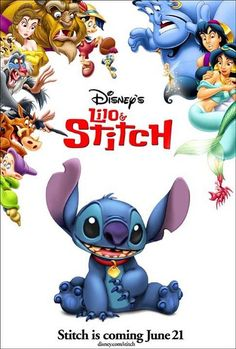 This has to be one of my favorite posters ever. I love stitch