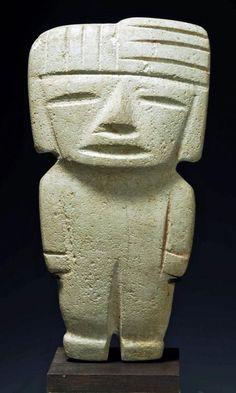 Teotihuacan Green Stone Figure
