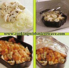 Mellow Mushrooms, easy microwave dish
