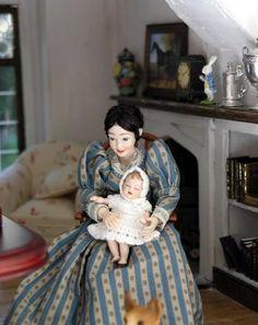 Heidi Ott dollhouse dolls