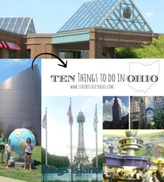 From aquariums to sporting events and from theme parks and science centers to tons of museums, check out 10 of our favorite things to do in Ohio.