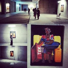 Jerry Quarshie opening/exhibition African Art, Instagram Posts, Painting, Africa Art, Painting Art, Paintings, Drawings, African Artwork, Afro Art
