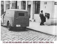 Corner of Nemanjina street and a postman - Belgrade ~ Serbia