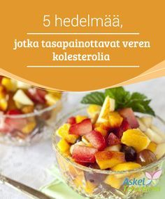 5 hedelmää, jotka tasapainottavat veren kolesterolia Näiden hedelmien lisääminen ruokavalioon edistää terveyttä ja auttaa alentamaan kolesterolin määrää veressä. Fruit Salad, Potato Salad, Healthy Eating, Vegetables, Ethnic Recipes, Food, Interior, Healthy Breakfasts, Deserts