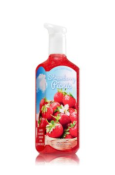 Strawberry Picnic Deep Cleansing Hand Soap - Soap/Sanitizer - Bath & Body Works