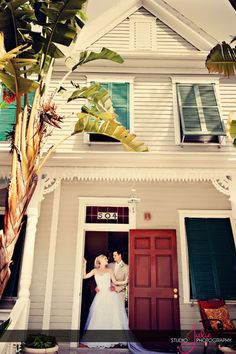 Our Wedding in Key West, Florida :) Photos courtesy of @StudioJulie